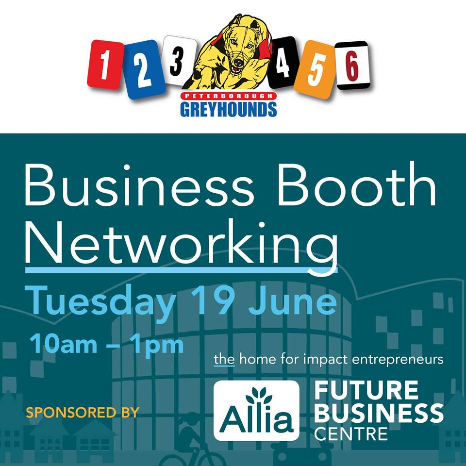 Business Booth Networking sponsored by Allia Future Business Centre