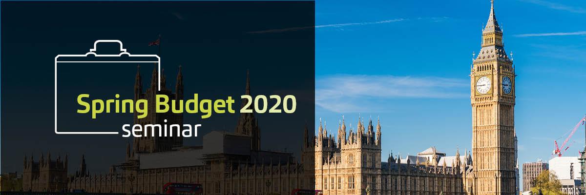 MHA MacIntyre Hudson - Spring Budget Seminar 2020