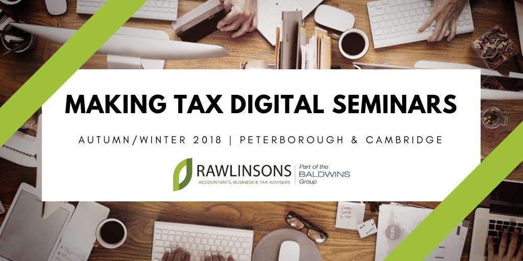 Making Tax Digital for VAT Seminar