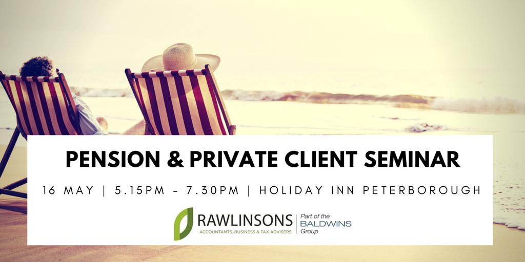Pension & Private Client Seminar