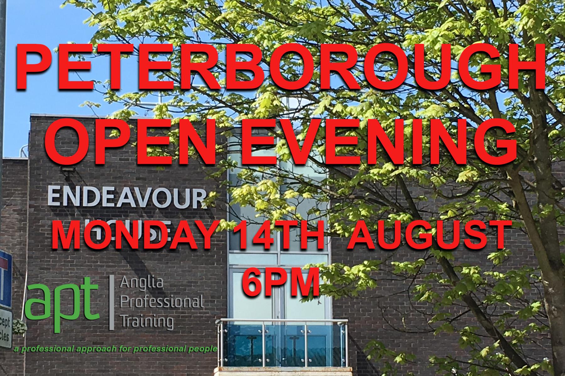 APT Peterborough Open Evening