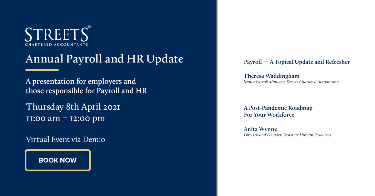 Annual Payroll & HR Update