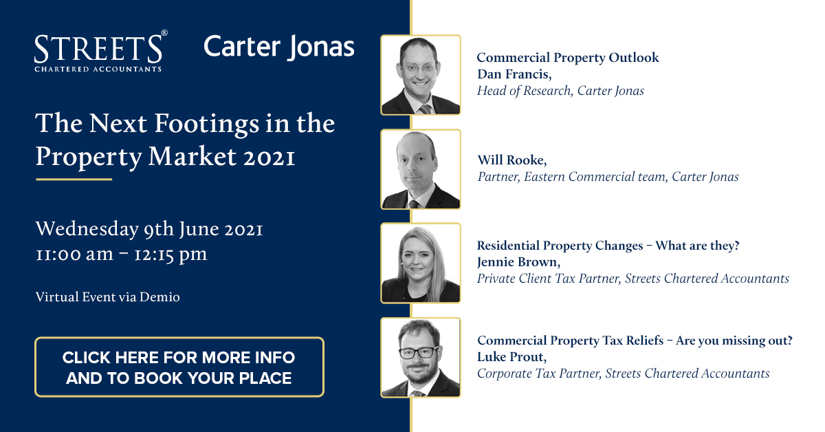 Property Update - The Next Footings in the Property Market 2021