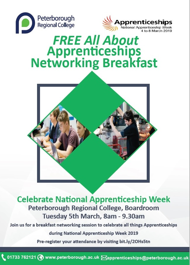 All About Apprenticeships - Networking Breakfast