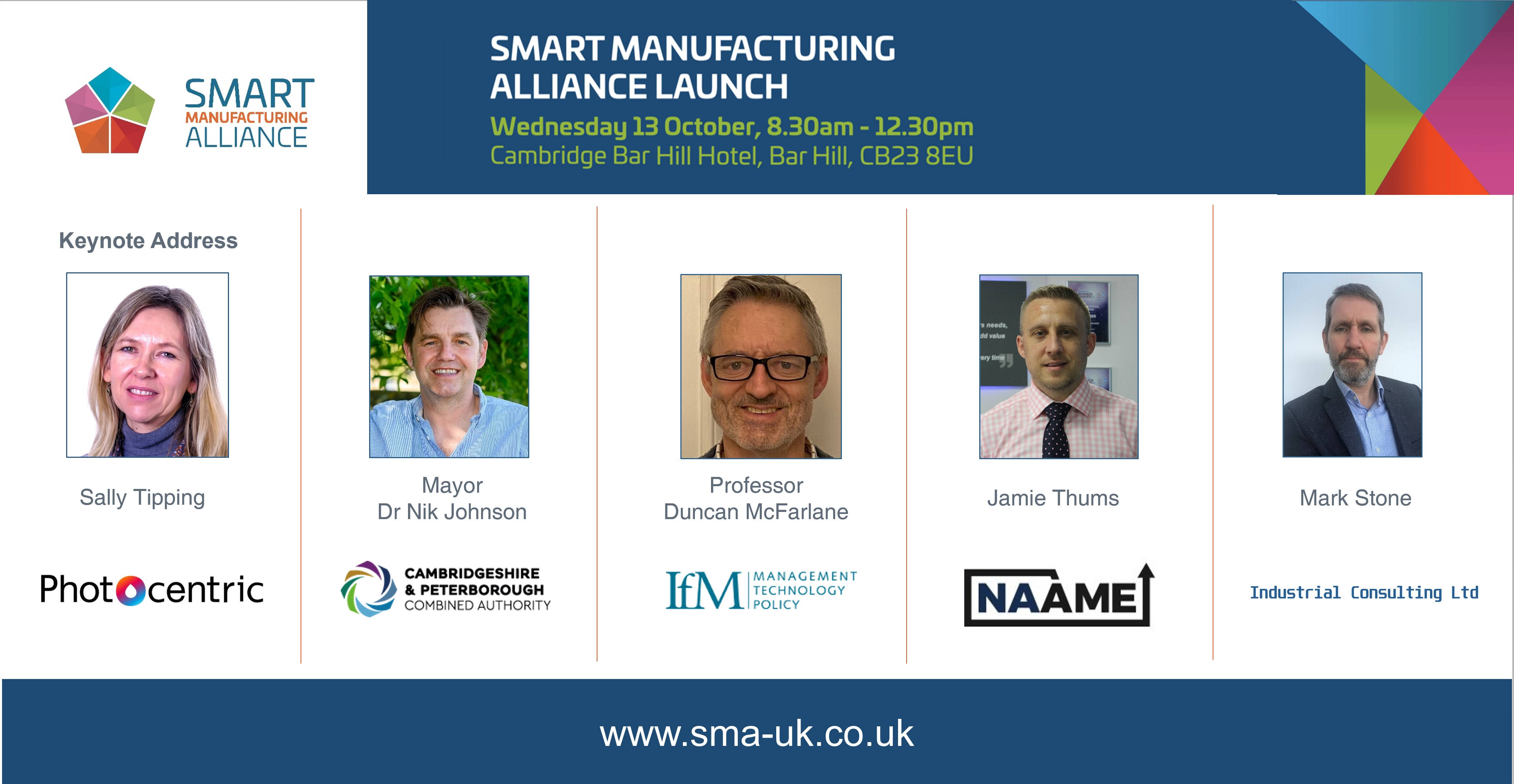 Smart Manufacturing Alliance launch