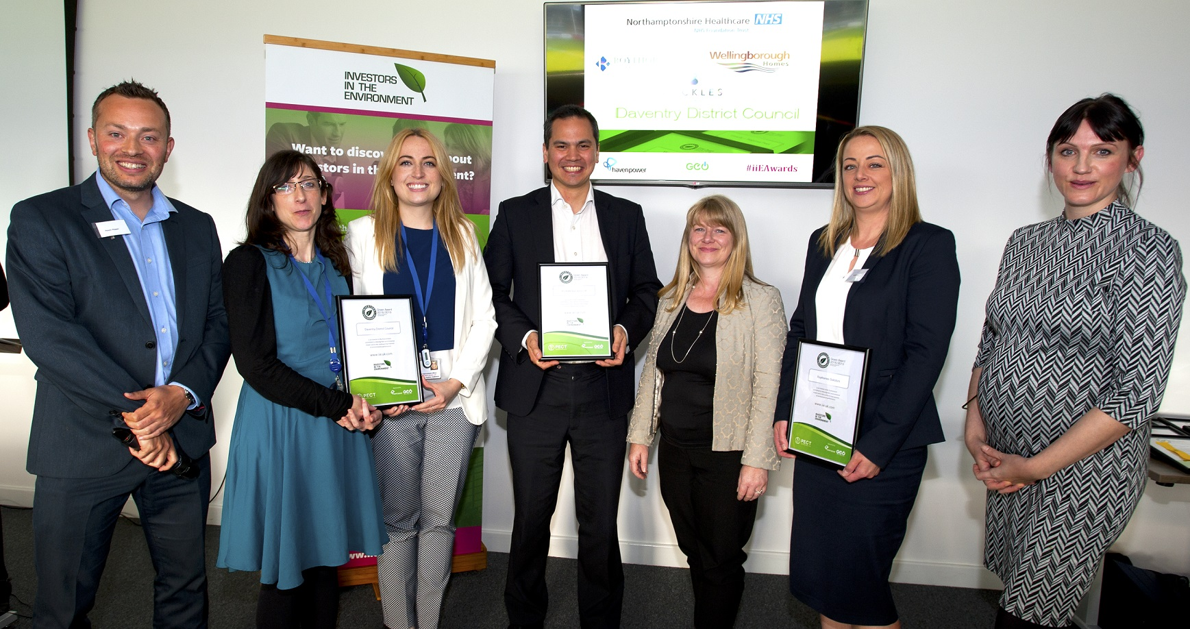 Buckles Solicitors LLP wins Green Award at 2019 iiE East Region Awards