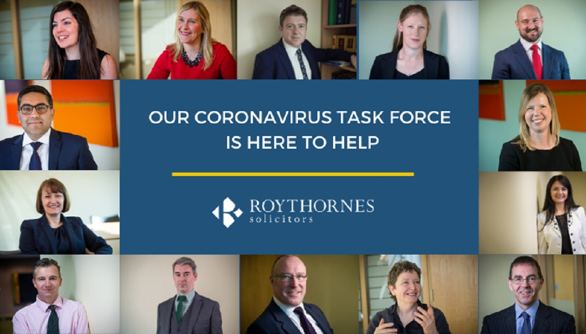 Lawyers launch coronavirus task force to help businesses and individuals