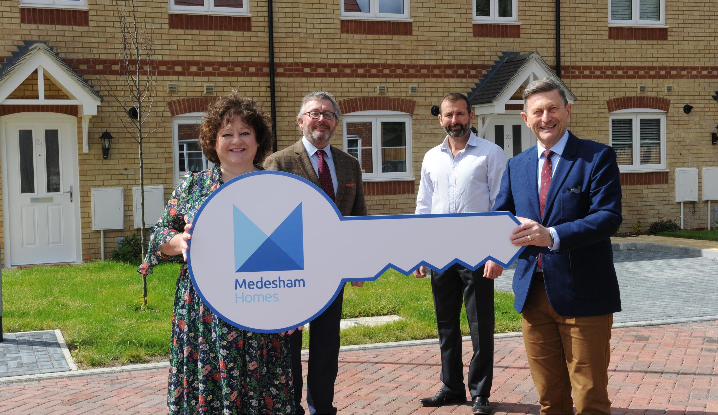 Medesham Homes complete third new development