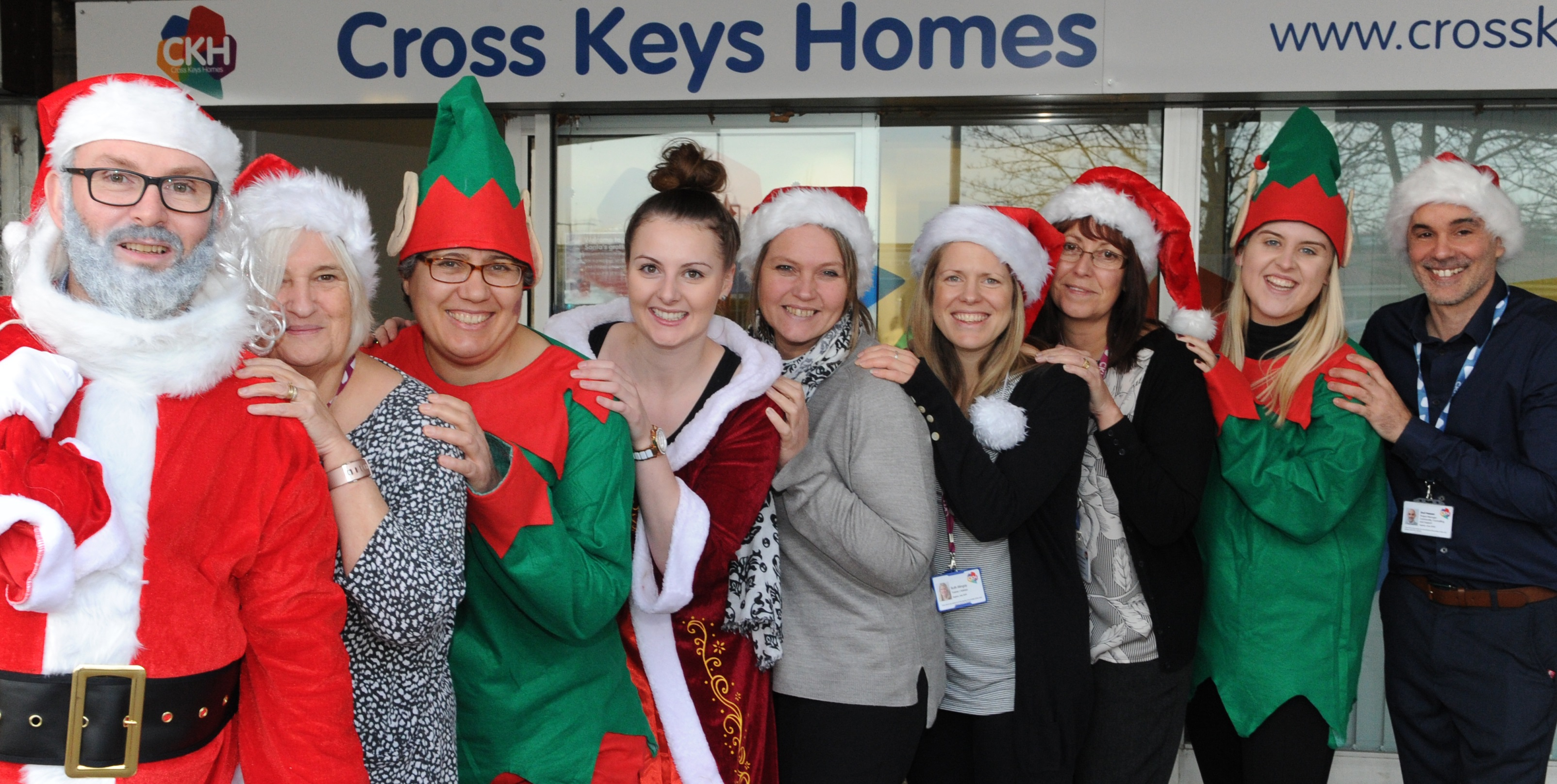 Step into Christmas with CKH