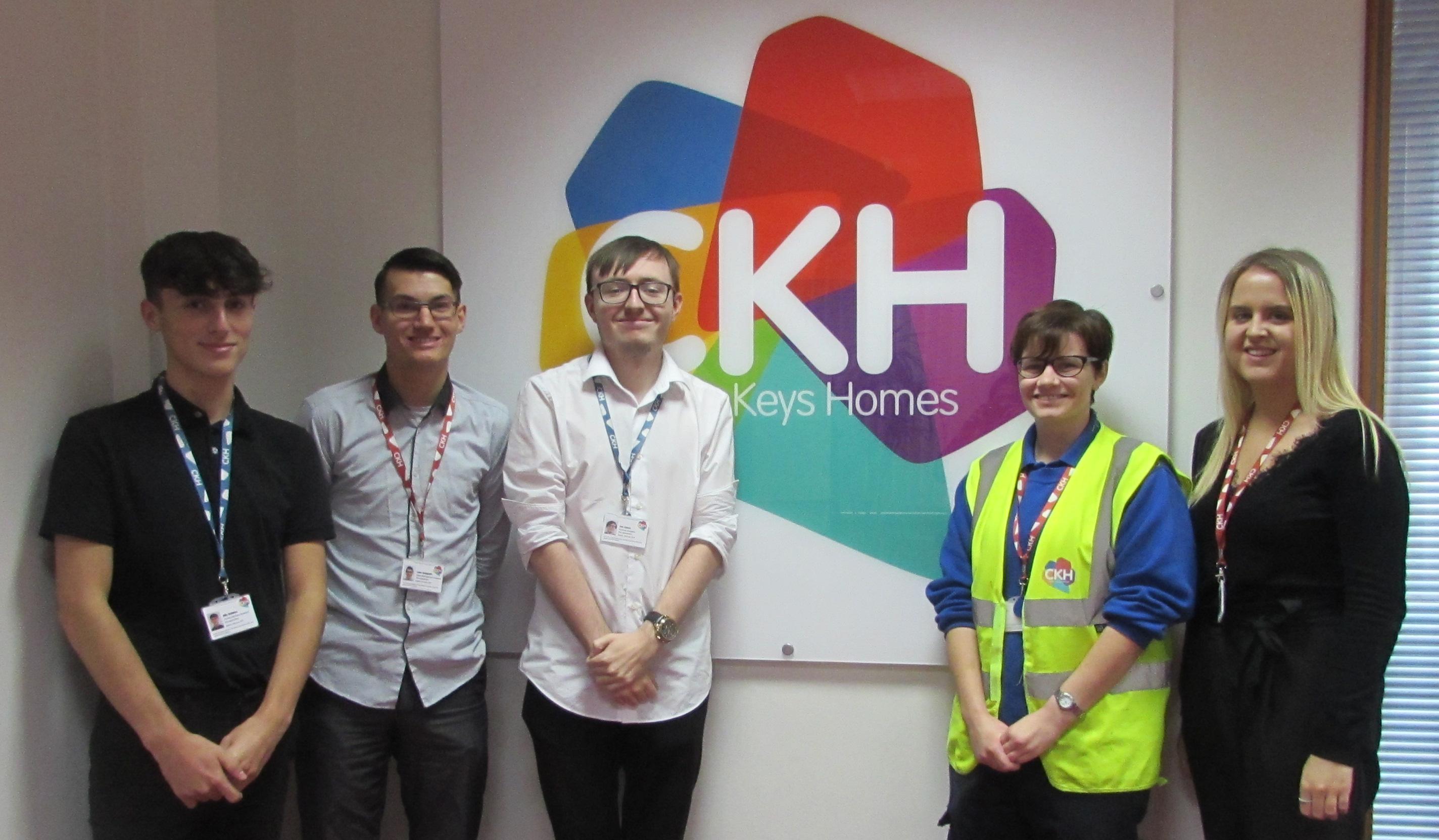 Cross Keys Homes' pre-apprentices reach half way point