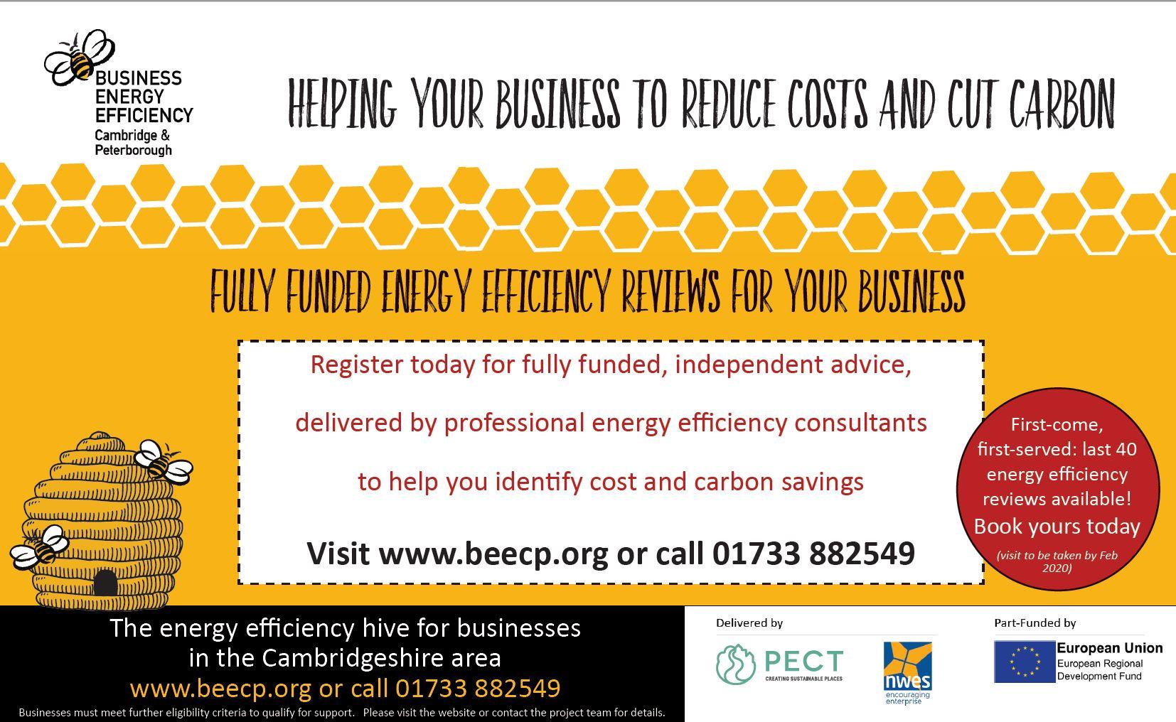 Cambridgeshire businesses cut carbon and save money