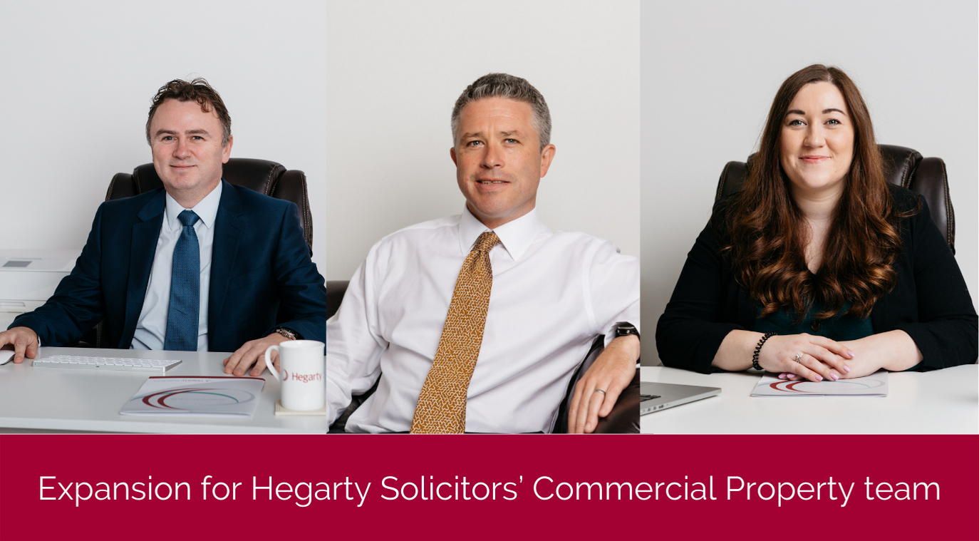 Expansion for Hegarty Solicitors' Commercial Property team