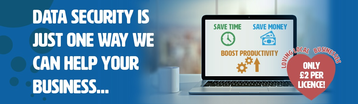Save money, boost data security and increase productivity!