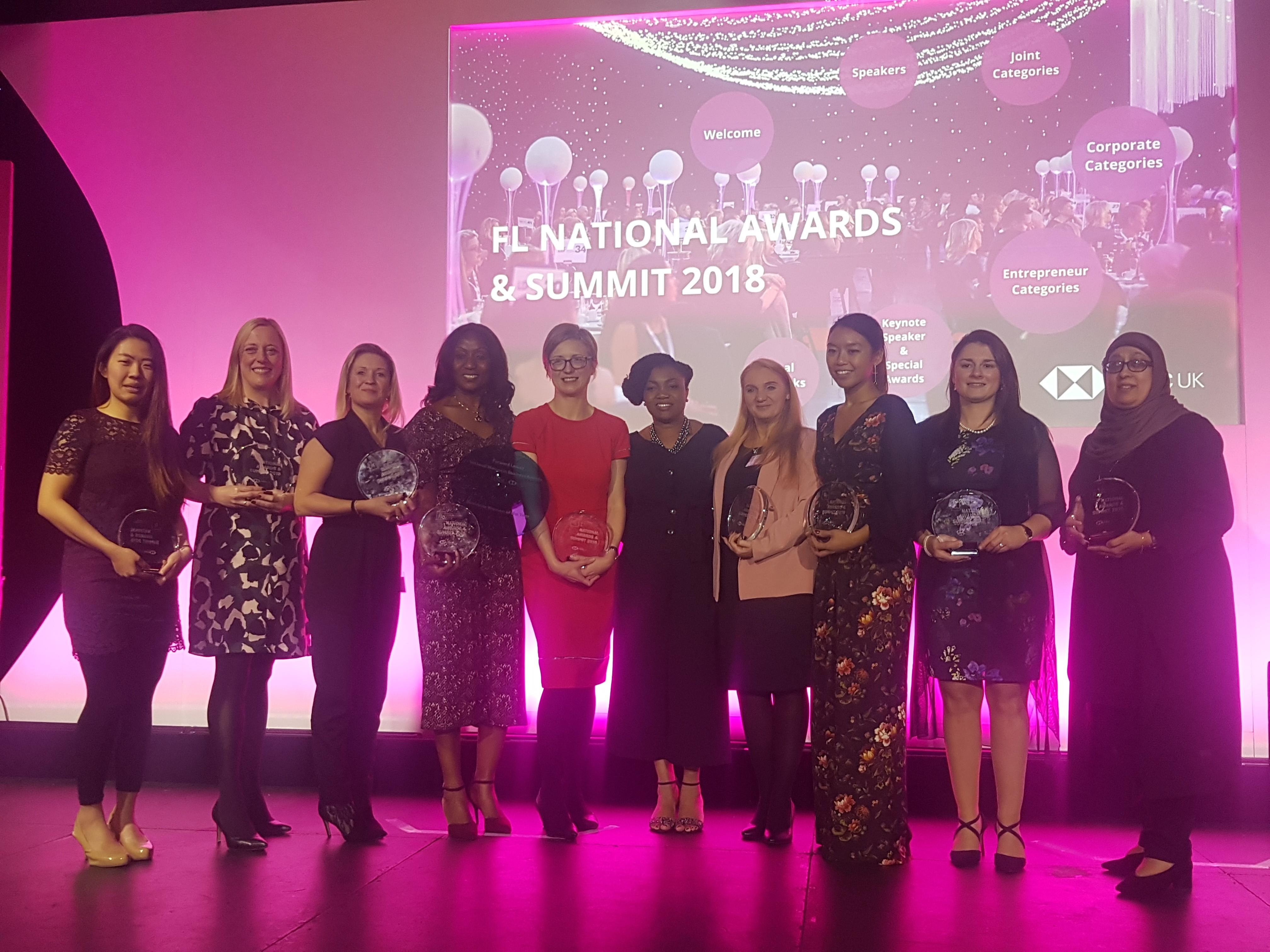 Joanne Bass Wins Forward Ladies Female Entrepreneur Award