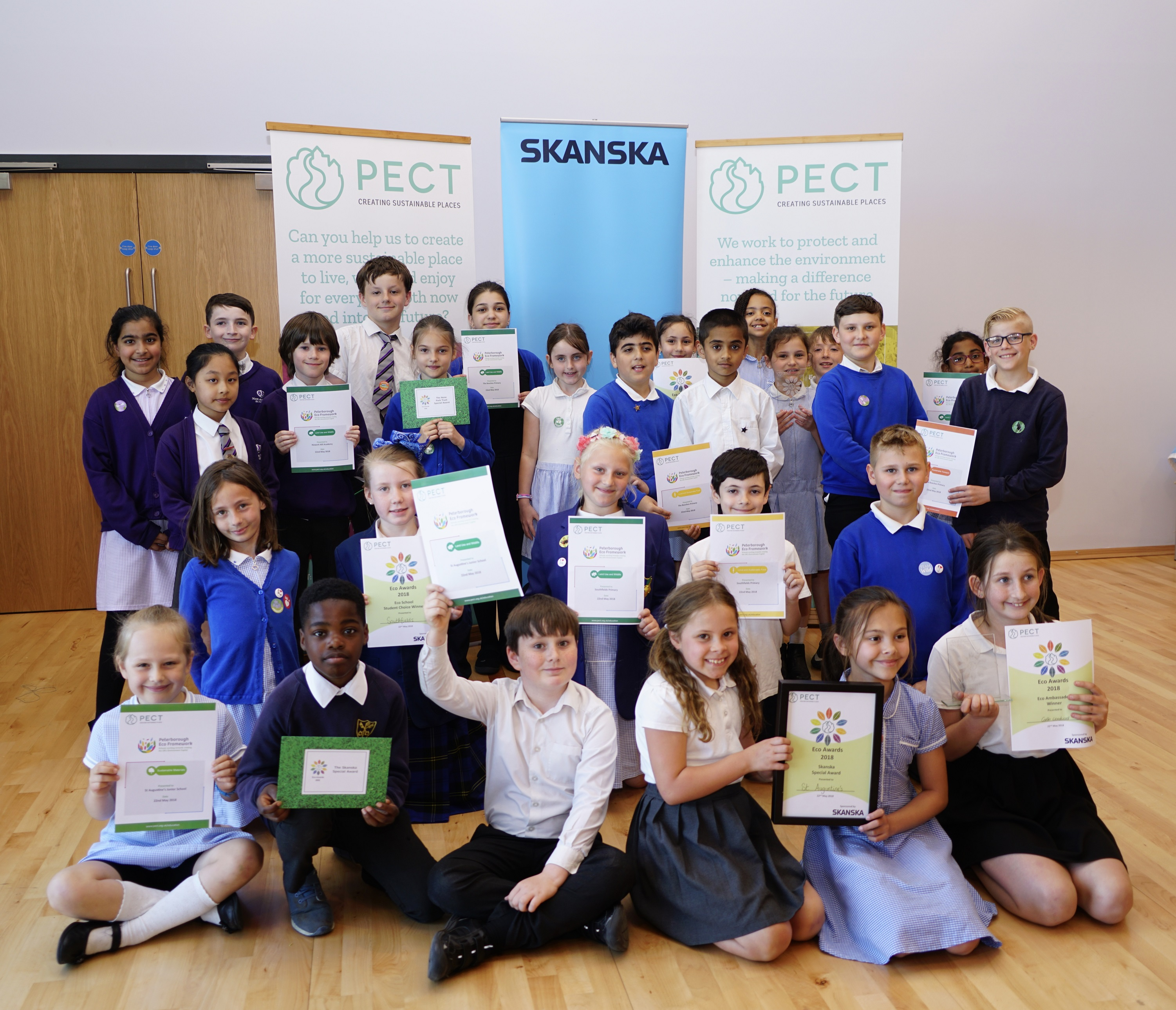 A decade of students' eco achievements celebrated!