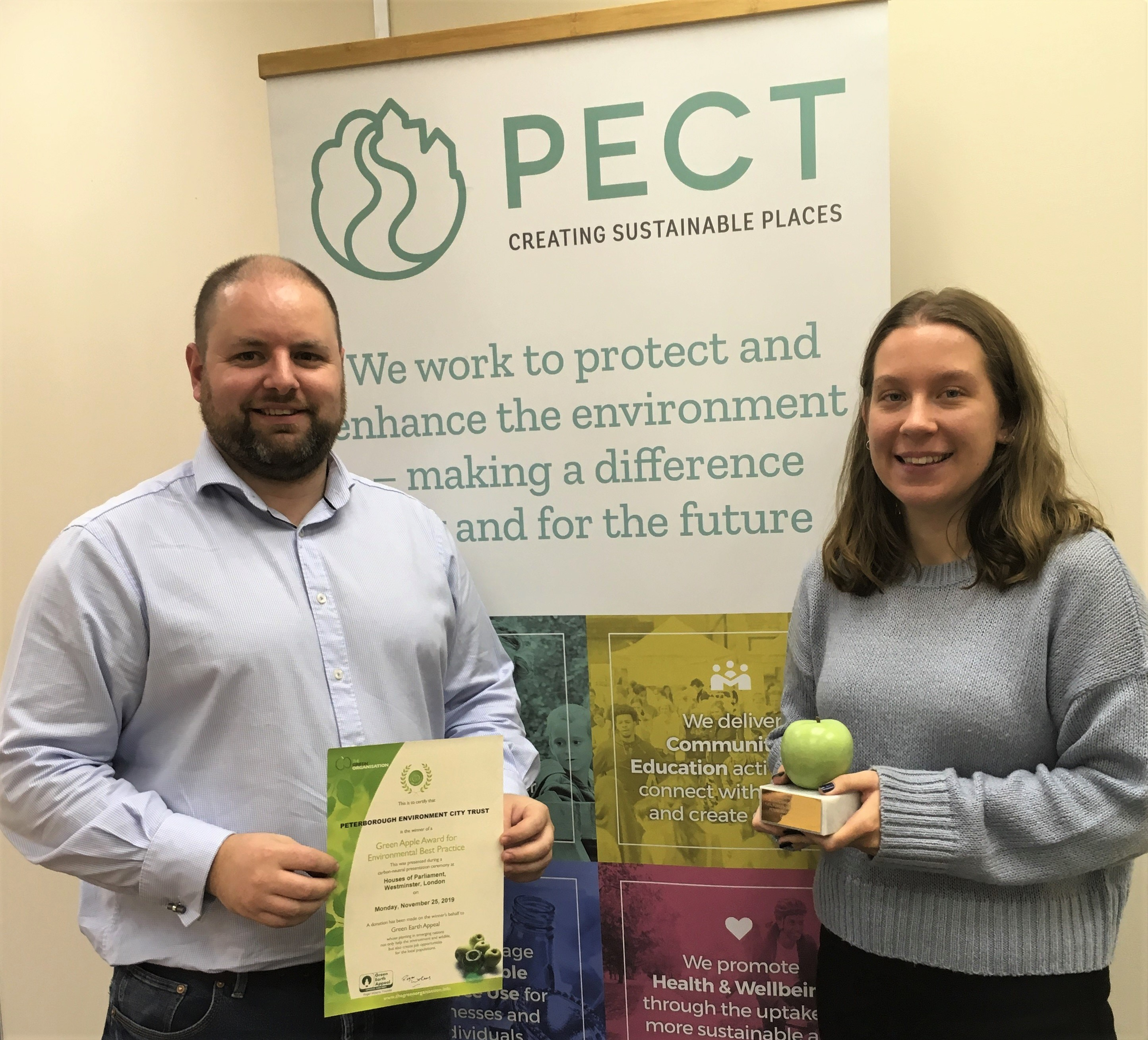 Charity's Warm Homes initiative receives Green Apple award