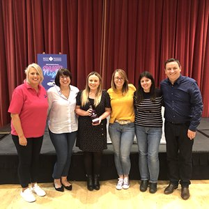 Top business brains raise hundreds at Moore Thompson Chartered Accountants charity quiz