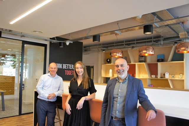 Local company launches new division to help businesses adapt their office environments post pandemic