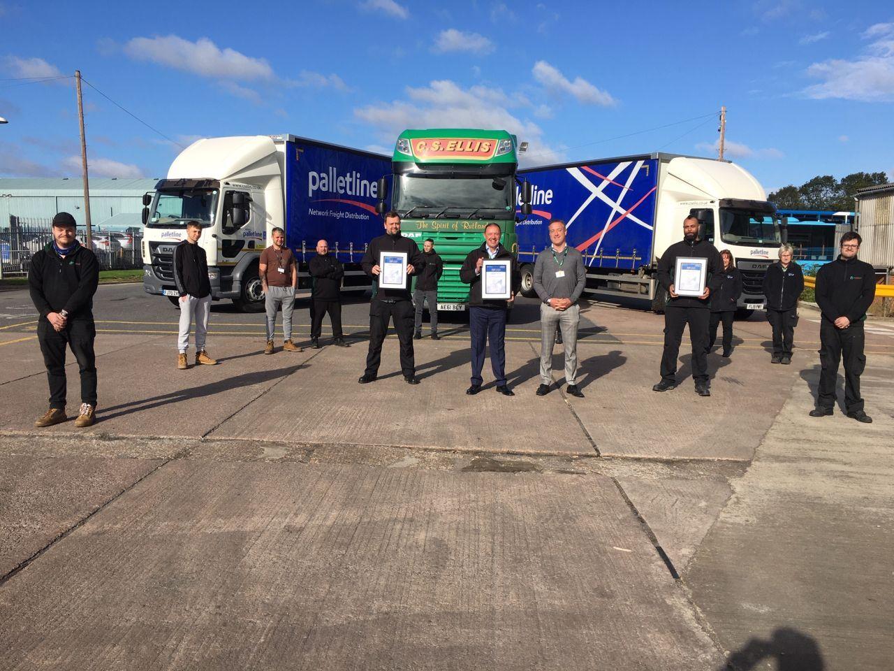 Rutland Logistics Firm Wins Palletline's Third Top Liner Award in A Row