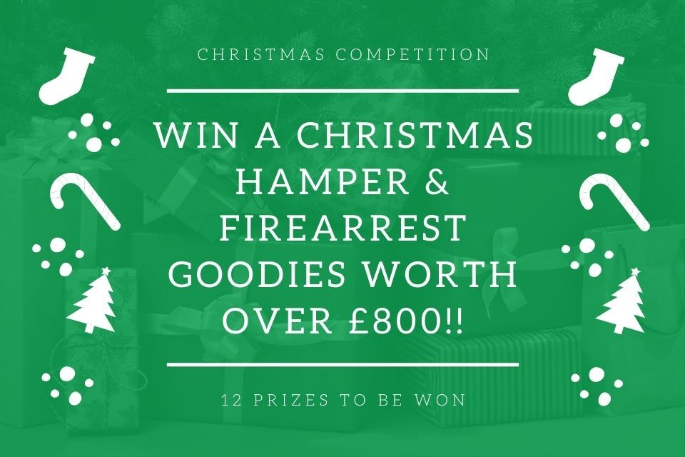 FireArrest Launch Huge Christmas Competition