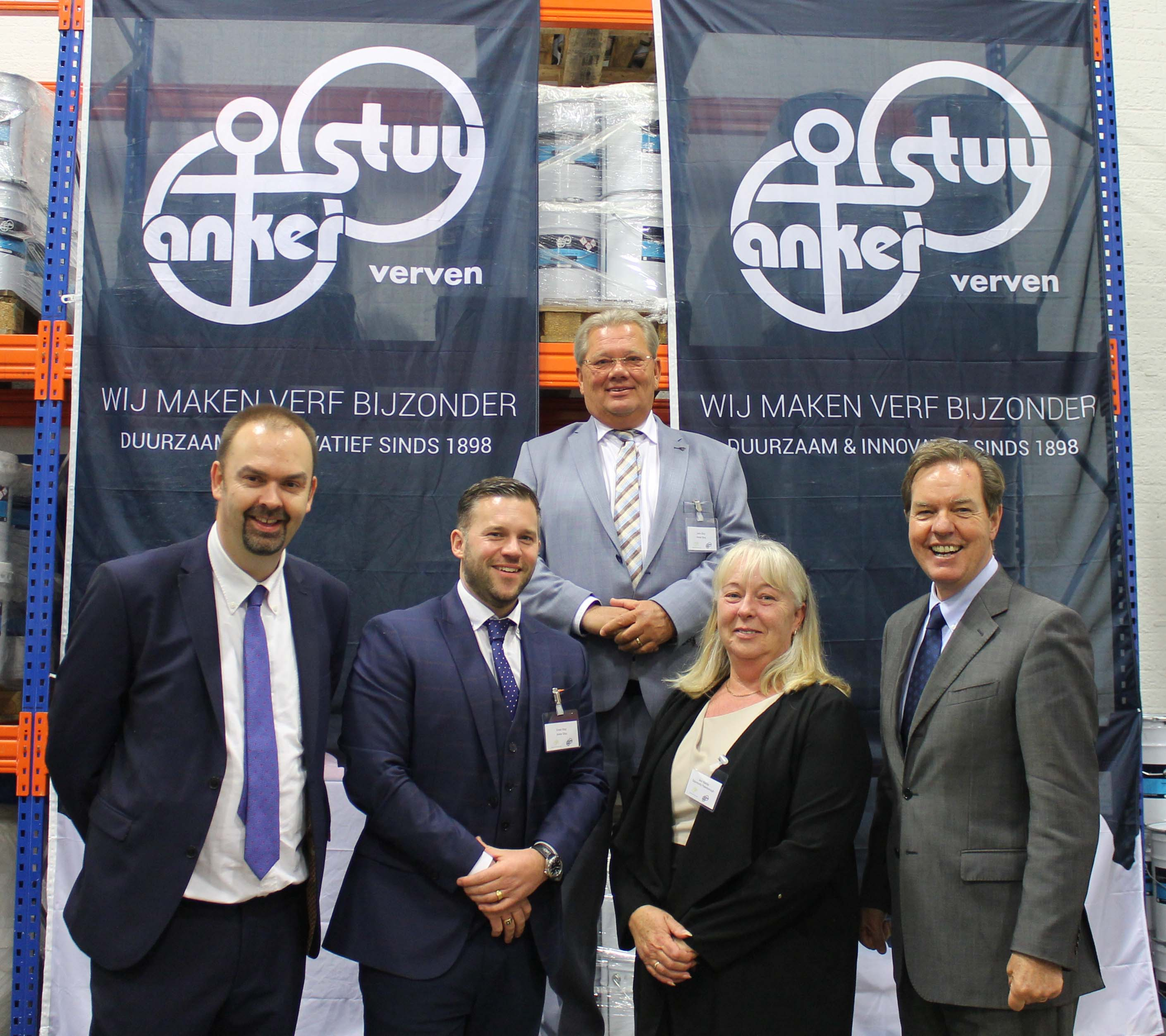 Dutch paint manufacturer opens its first UK base in Peterborough