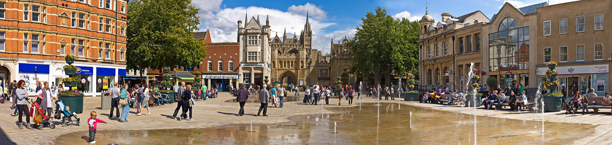 Peterborough city centre preparing to welcome back shoppers