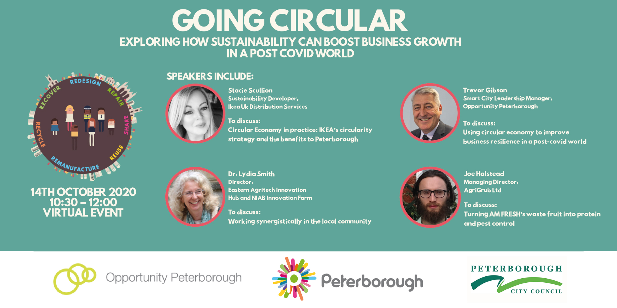 Going circular – exploring how sustainability can boost business growth in a post-COVID19 world