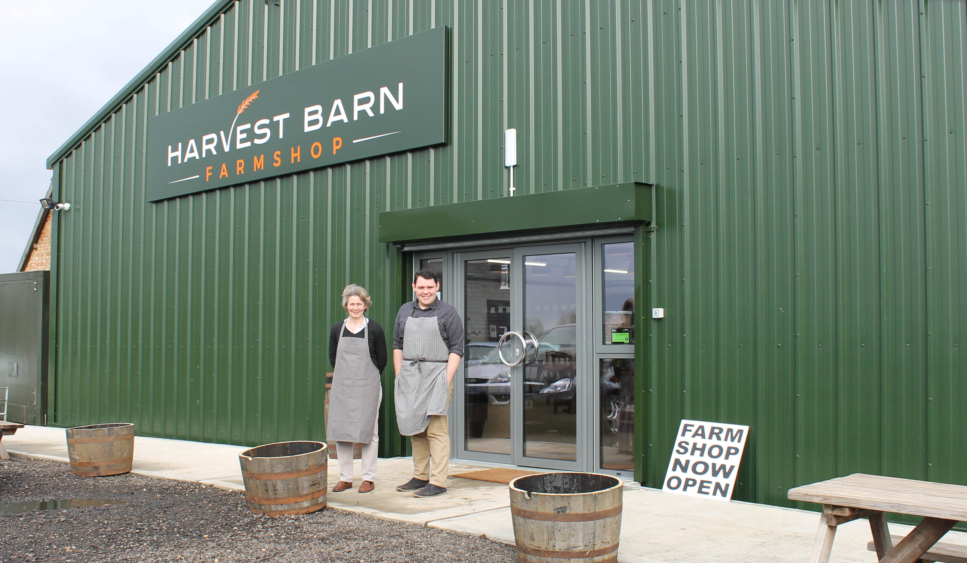 Family-Run Farm Shop Enjoys Successful Start