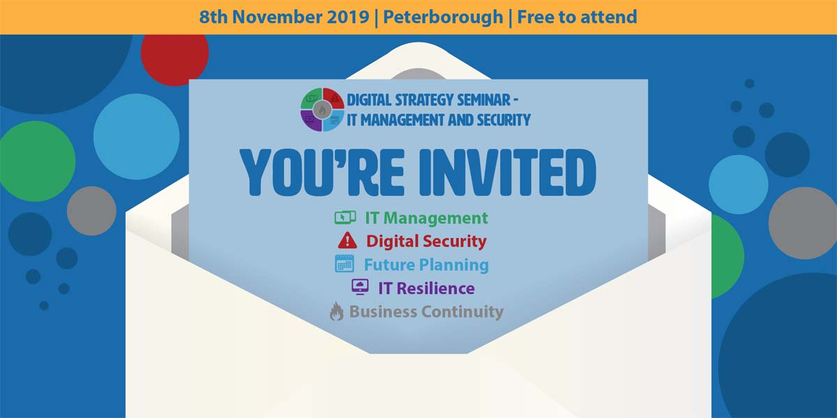 NetSupport's Digital Strategy Seminar - IT Management and Security in partnership with Opportunity Peterborough.