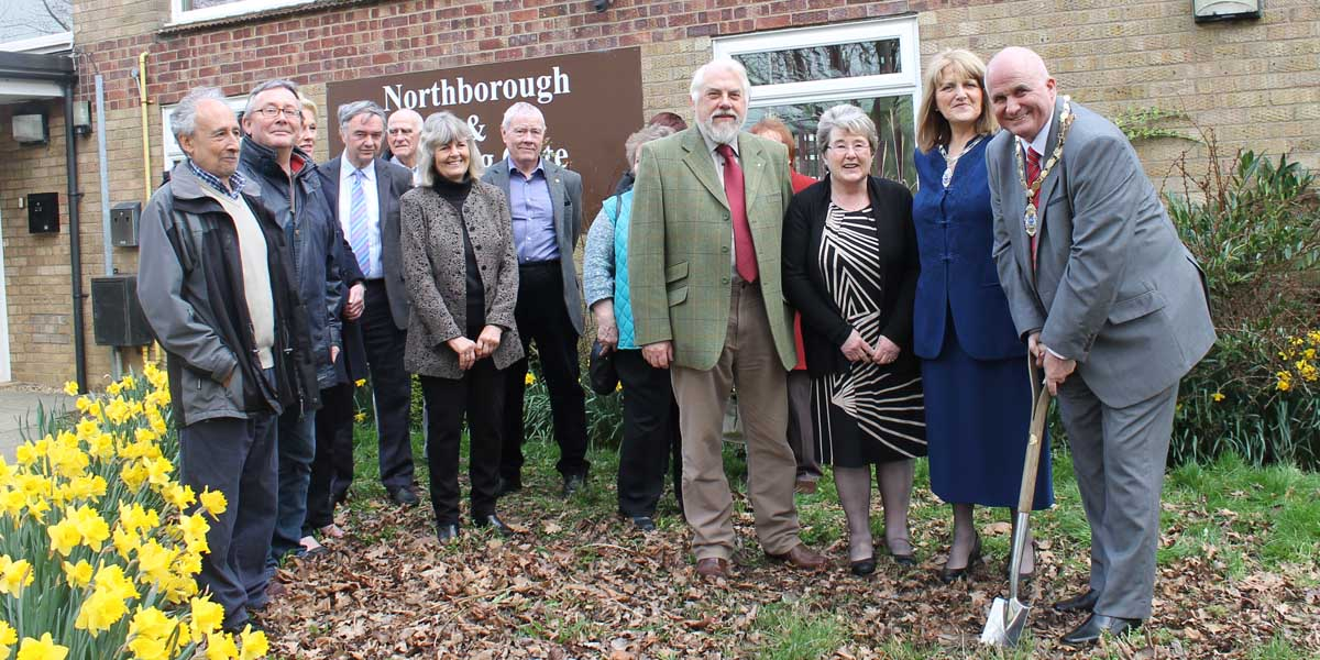Work starts on extension to Northborough Village Hall